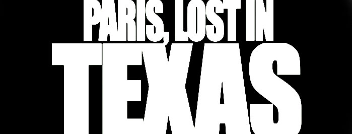 Take Away Show #70 _ PARIS, LOST IN TEXAS