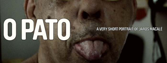 O PATO: a very short portrait of JARDS MACALÉ